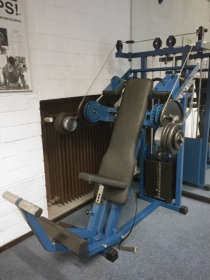 Chest-Press-Spezialanfertigung